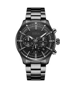 Saber計時石英不鏽鋼腕錶