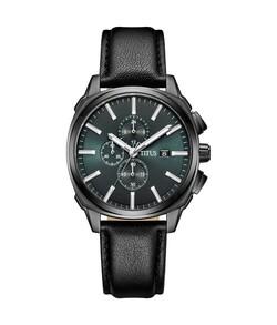 Modernist計時石英皮革腕錶