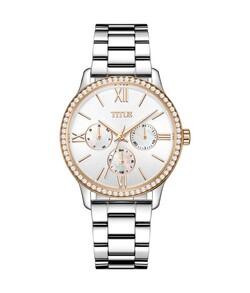 Fashionista多功能石英不鏽鋼腕錶