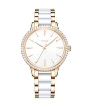 Fashionista 3 Hands Quartz Stainless Steel Watch