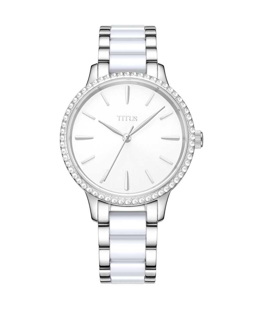 Fashionista 3 Hands Quartz Stainless Steel Watch