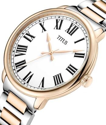 Zeitgeist三針石英不鏽鋼腕錶