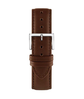 Montella 20 mm Brown Leather Strap