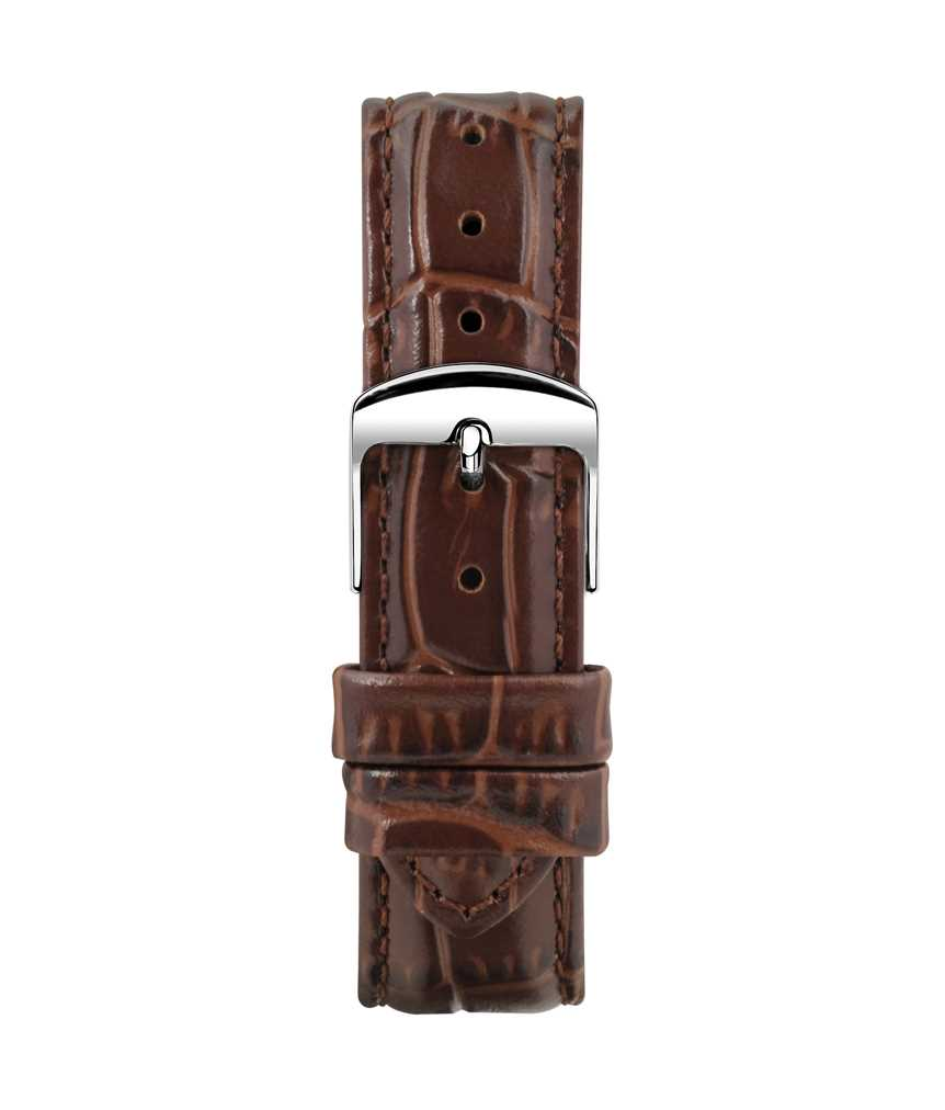 Montella 18 mm Chestnut Leather Strap