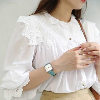 18 mm Grassy Green Japanese Fabric Watch Strap