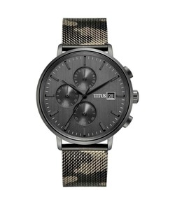 Interlude Chronograph Quartz Stainless Steel Watch
