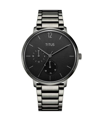 Nordic Tale Multi-Function Quartz Stainless Steel Watch