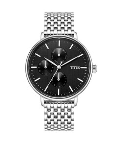 Interlude Multi-Function Quartz Stainless Steel Watch