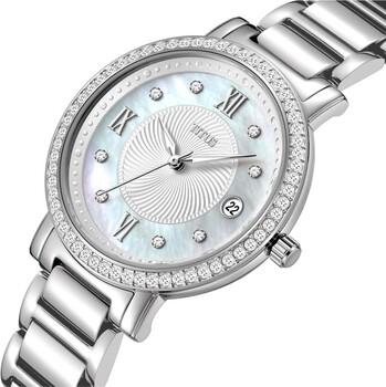 Fair Lady 3 Hands Date Quartz Stainless Steel Watch