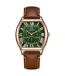 Classicist Multi-Function Quartz Leather Watch