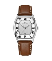 Barista 3 Hands Date Quartz Leather Watch