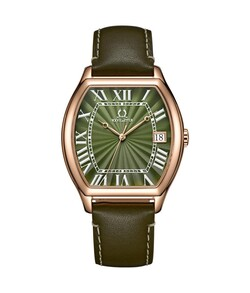 Classicist 3 Hands Date Quartz Leather Watch