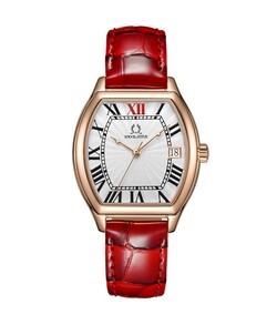 Barista 3 Hands Date Quartz Leather Watch
