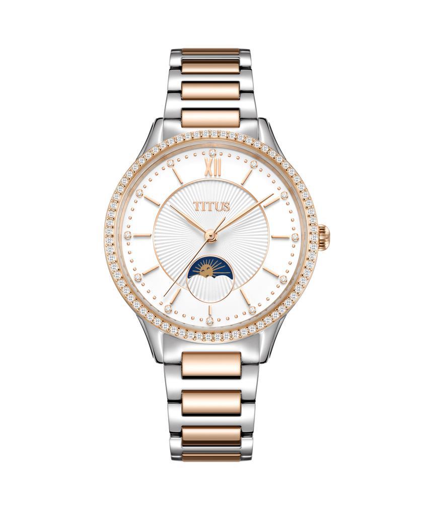 Fair Lady Multi-Function Quartz Stainless Steel Watch