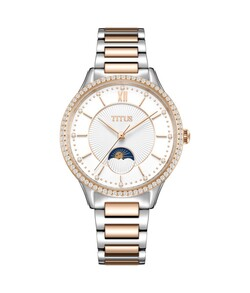 Fair Lady Multi-Function Quartz Stainless Steel Watch