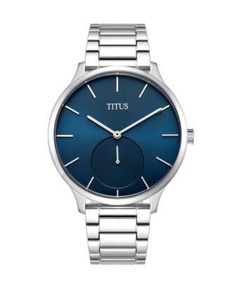 Interlude小秒針石英不鏽鋼腕錶