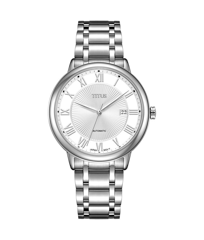 Classicist 3 Hands Date Mechanical Stainless Steel Watch