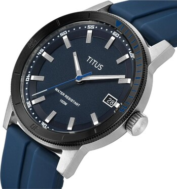 Nordic Tale 3 Hands Date Quartz Silicon Watch