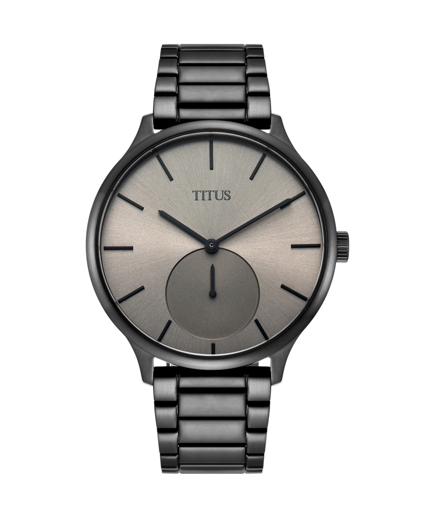 Interlude 2 Hands Small Second Quartz Stainless Steel Watch