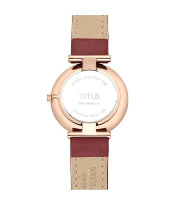 Fashionista 2 Hands Quartz Leather Watch