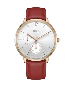 Nordic Tale Multi-Function Quartz Leather Watch