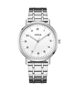 Interlude 3 Hands Quartz Stainless Steel Watch