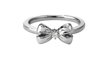 17mm Ribbon Ring, Sterling Silver