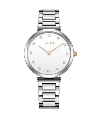 Fashionista兩針石英不鏽鋼腕錶