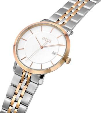 Classicist 3 Hands Date Quartz Stainless Steel Watch
