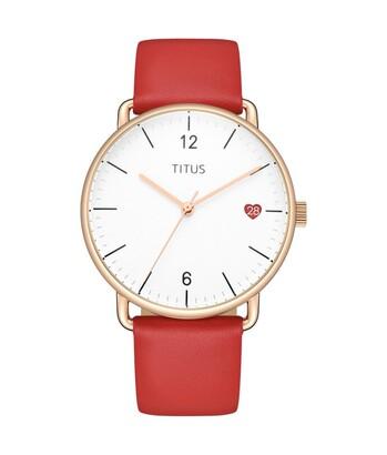 Nordic Tale 3 Hands Date Quartz Leather Watch