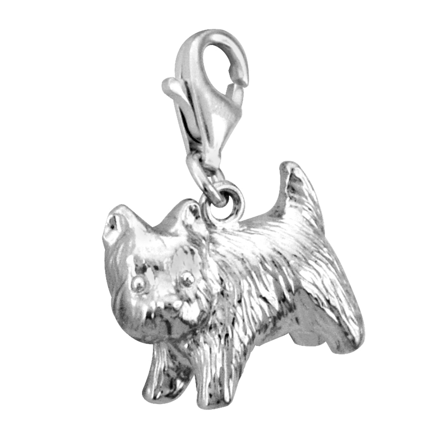 Solvil et Titus 925 Sterling Silver Puppy Charm