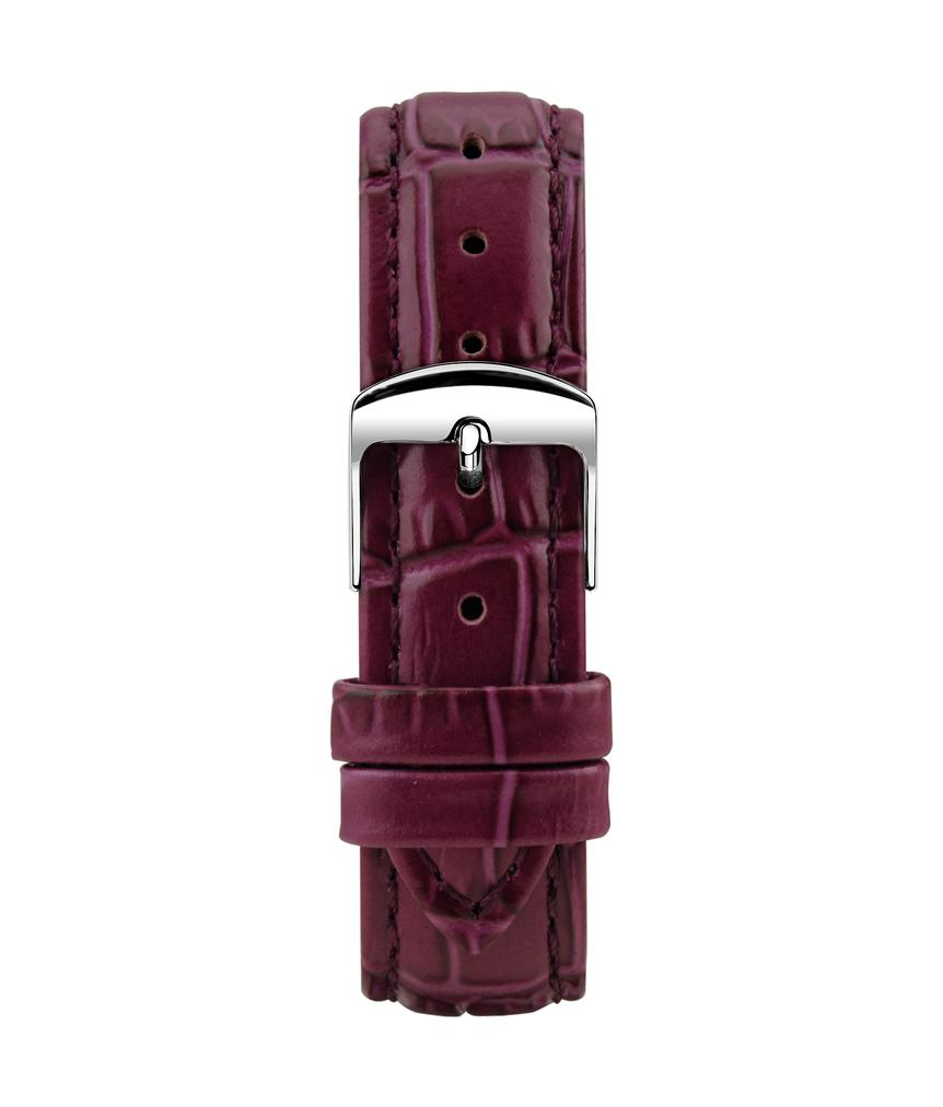 Montella 16 mm Purple Leather Watch Strap