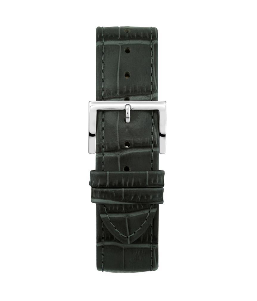 Montella 20 mm Dark Grey Leather Watch Strap