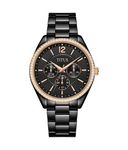 Fashionista Multi-Function  Stainless Steel Watch