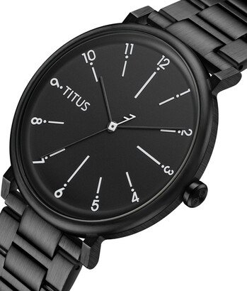 Nordic Tale三針石英不鏽鋼腕錶