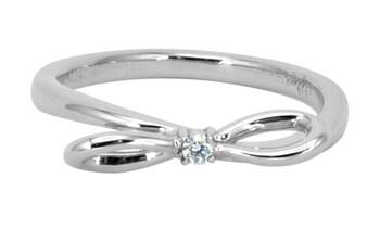 Solvil et Titus 16.2mm Bow Ring, Sterling Silver
