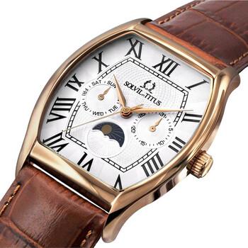 Barista Multi-Function Quartz Leather Watch