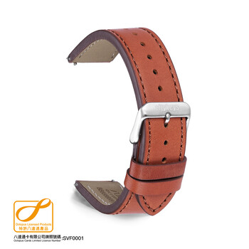 Citykeys 20 mm Brown Leather Octopus Strap