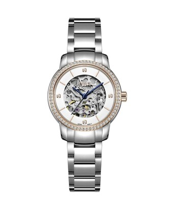 Exquisite 3 Hands Mechanical Stainless Steel Watch