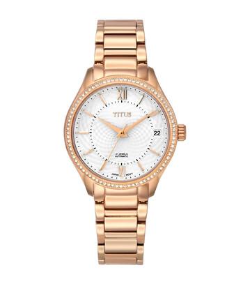 Silverlight 3 Hands Date Mechanical Stainless Steel Watch