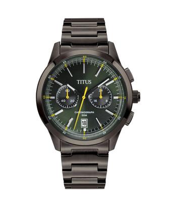 Bravo Chronograph Quartz Stainless Steel Watch