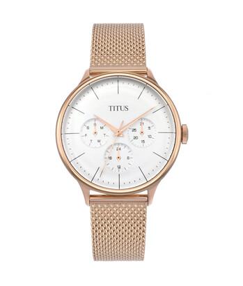 Muse多功能石英不鏽鋼腕錶