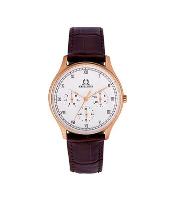Muse Multi-Function Quartz Leather Watch